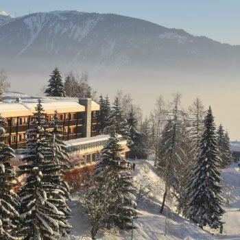 Station de ski de Valmorel Doucy sous la neige