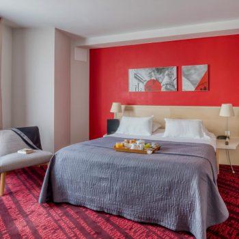 Hôtel à Paris chambre cosy